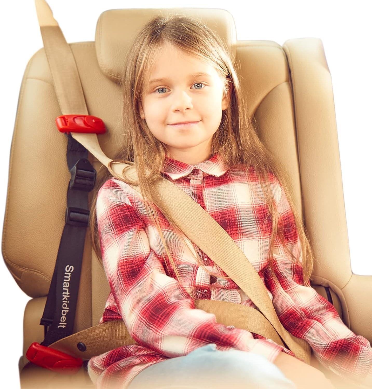 Smart Kid Belt | Safest Pocket Size Booster Seat Alternative | Child Restraint Harness for Car | Safety Seat Belt System for Kids 5 Year Old and Up | Boy Girl Junior | US & EU Crash Tested & Approved