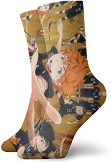 Haikyuu!! Sock Anime Warm Soft Vintage Boot Gifts Outdoor Hiking Trail Crew Sock