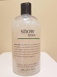 Best philosophy snowman shower gel Reviews