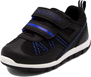 Nautica Kids Sneakers Double Strap Casual Athletic Shoes (Toddler/Little Kid)