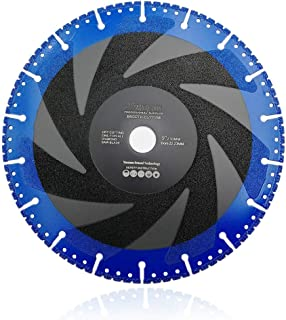 SHDIATOOL 9 Inch Metal Cutting Diamond Blade All-Purpose Diamond Cut-off Wheel Marble Aluminum Pipe Iron Hard Plastic PVC and more