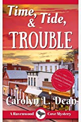 TIME, TIDE, and TROUBLE: A Ravenwood Cove Cozy Mystery (book 5) (English Edition) eBook Kindle