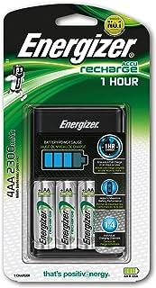 Energizer e300697700 -Cargador de batería, 2300mAh, 1Unidades, Color Negro