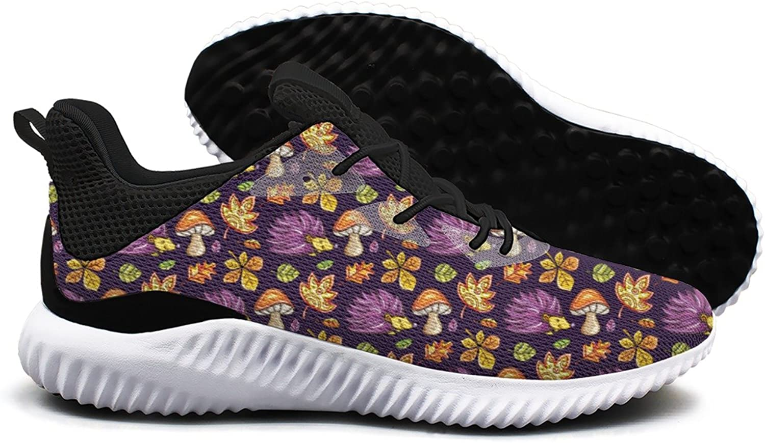 Autumn and Hedgehog Figure Leisure Casual Running shoes Young Women Top Unique Active