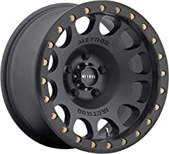 Method Race Wheels MR105 Beadlock BLACK Wheel with Matte (0 x 9. inches /6 x 139 mm, -38 mm Offset)