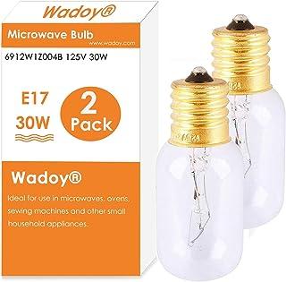 Microwave Light Bulb 6912W1Z004B,125V 30W Bulb,Appliance Light Bulb 2pcs