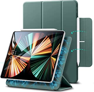 ESR iPad Pro 11 ケース 2021 第3世代 iPad Pro 11 カバー 2020 第2世代 通用 磁気吸着 Apple Pencilのペアリングと充電に対応 オートスリープ ウェイク スリム 軽量 シルク手触り 高級感 三つ...