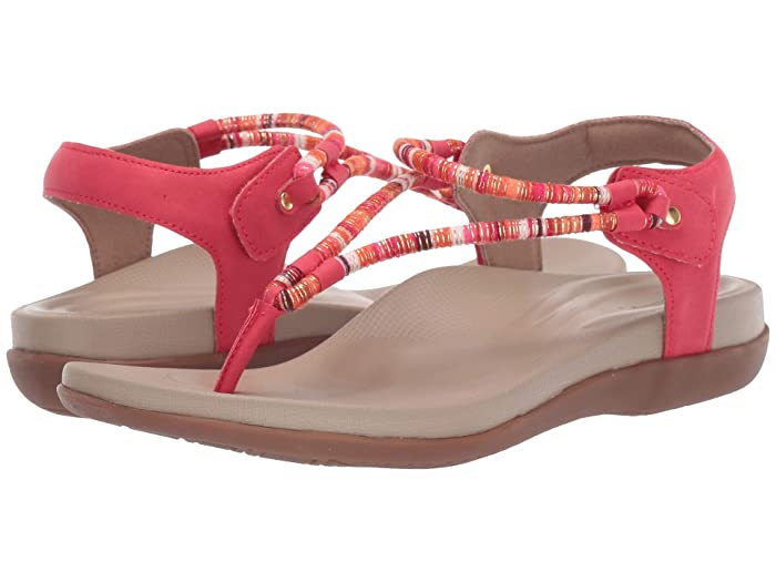 Aetrex  Bailey (Red) Womens Sandals