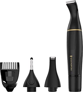 Remington Ultimate Precision Detail Trimmer Black NE3160, Black/Gold, 1 Count