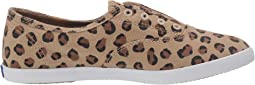 Leopard Washed Twill