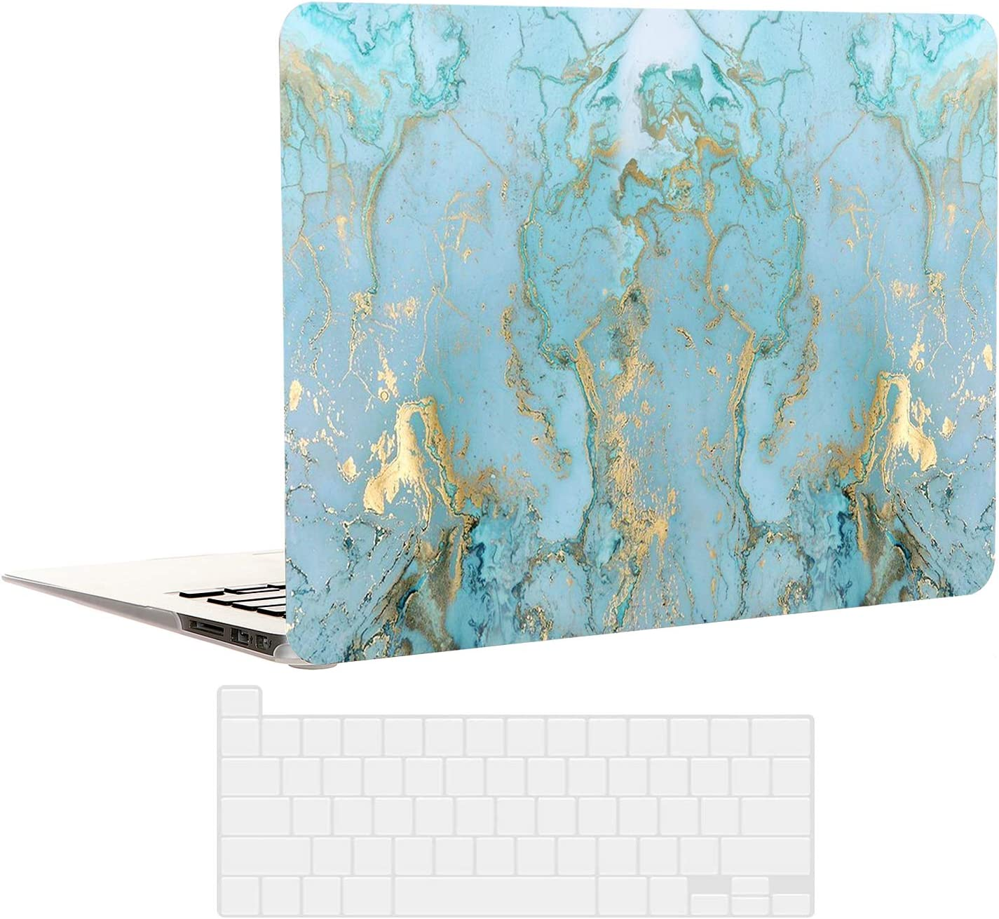 EkuaBot Blue Marble List price MacBook Pro Keybo 13 inch Transparent Case Ranking TOP1