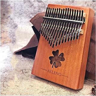 HENGTONGTONGXUN Thumb Piano, Kalimba, 17-tone Beginner Finger Piano, Kalingba Instrument (Size : K)