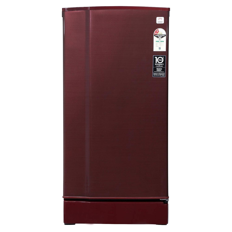 Godrej 190 L 2 Star Direct-Cool Single Door Refrigerator (RD 1902 EW 23 STL WN, Steel Wine)