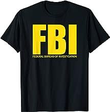 FBI Shirt, Federal Bureau of Investigation Logo Classic T-Shirt