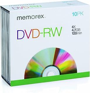 Memorex DVD-RW 120Min 4,7GB 4X Slim Case (10Disc)