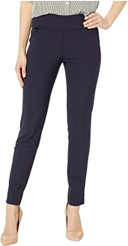 Mila Stretch Fabric Slim Ankle Pants