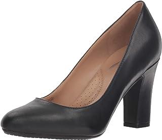 Aerosoles - Women's Octagon Heel - Round Toe Fashion Dress Pump with Memory Foam Footbed