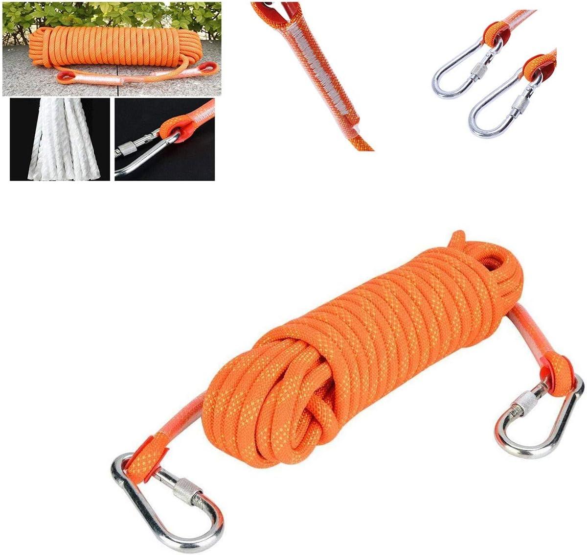 Cuerda de descenso 12 mm, cuerda escape de emergencia, cuerda ...