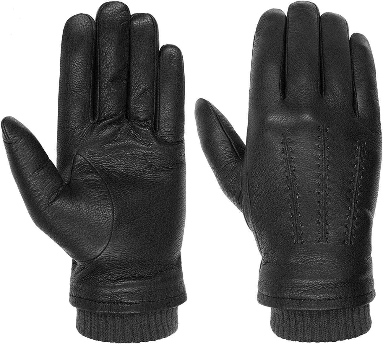 Max 43% OFF Stetson Classic Goat Nappa - Max 78% OFF Leather Men Gloves