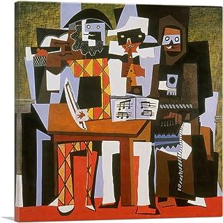 ARTCANVAS Three Musicians 1921 Canvas Art Print by Pablo Picasso - 26