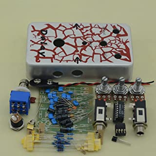 TTONE NEW DIY Delay Guitar Effects Pedal True Bypass Metal Analog Delay Pedals Kit