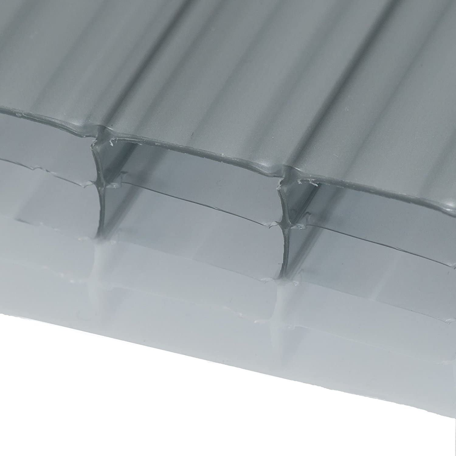 Heatguard Opal, 1.5 x 2m (Width x Length) 25mm DualTinted Polycarbonate Sheets Poly Plastic Roof Panel for Leanto Canopy Conservatory