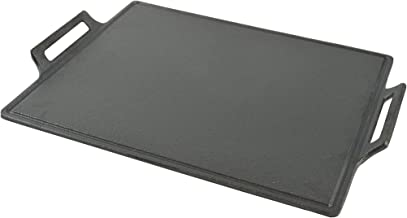 Steven Raichlen Best of Barbecue 14-Inch by 11.88-Inch Cast Iron Plancha
