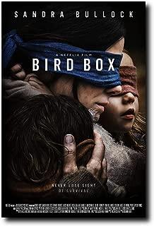 Mile High Media Bird Box Movie Poster 24x36 Inch Wall Art Portrait Print - Sandra Bullock