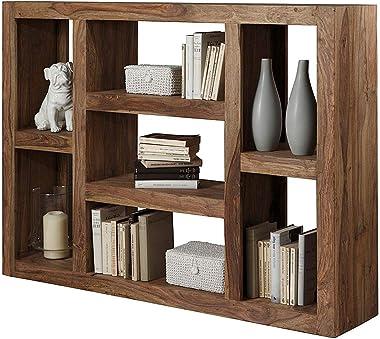 Kingwood Bookcase in Sheesham Wood with Teak Finish (Natural Finish)