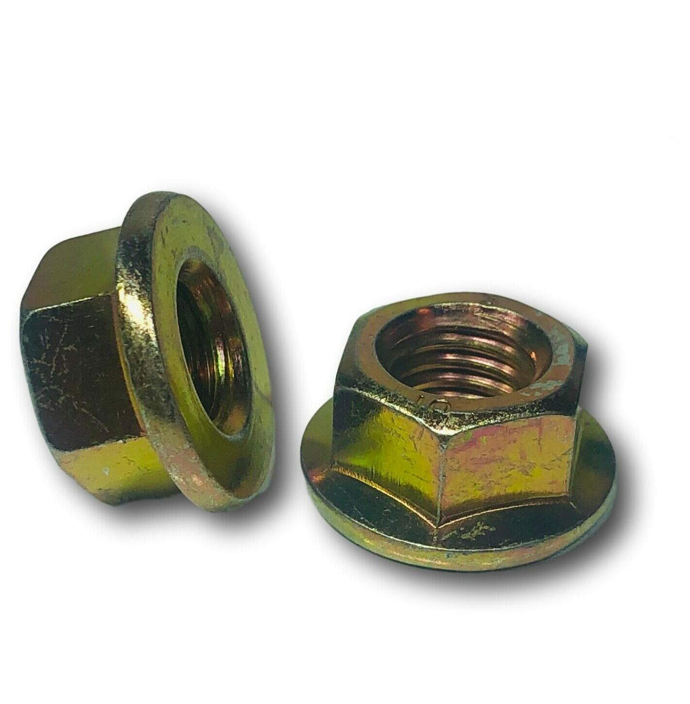 hex Nuts M8-1.25 - Indianapolis Mall Metric Hex Zin Spring new work 10 Flange 8 Class Grade