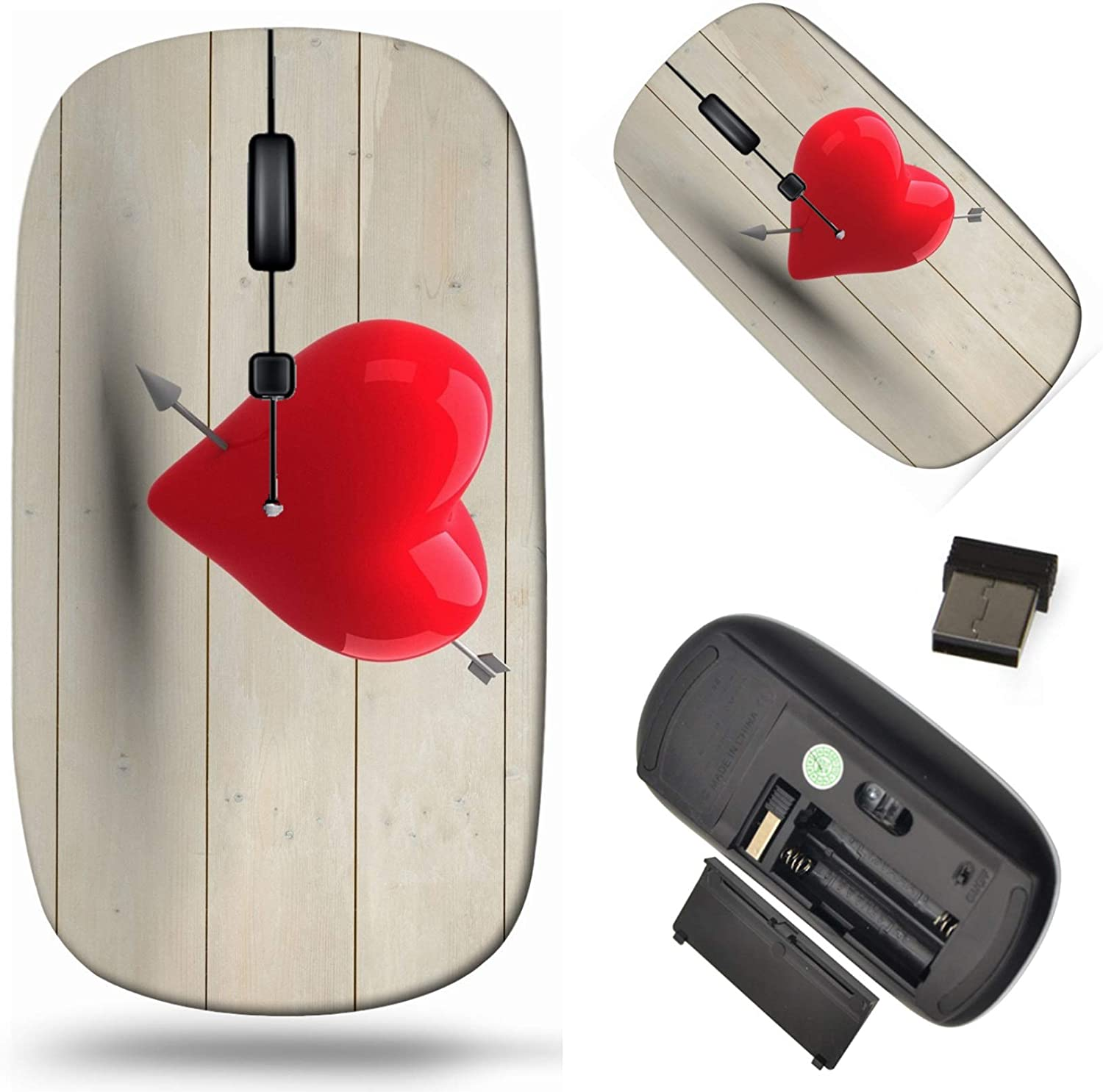 Wireless Computer Mouse 2.4G Long Beach Mall with Cor Receiver USB Laptop Max 43% OFF
