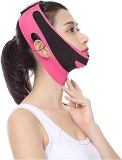 Sponsored Ad - Face Lifting Belt Elastic Face Slimming Bandage V Line Face Shaper Women Chin Cheek Lift Up Belt Facial Ant...