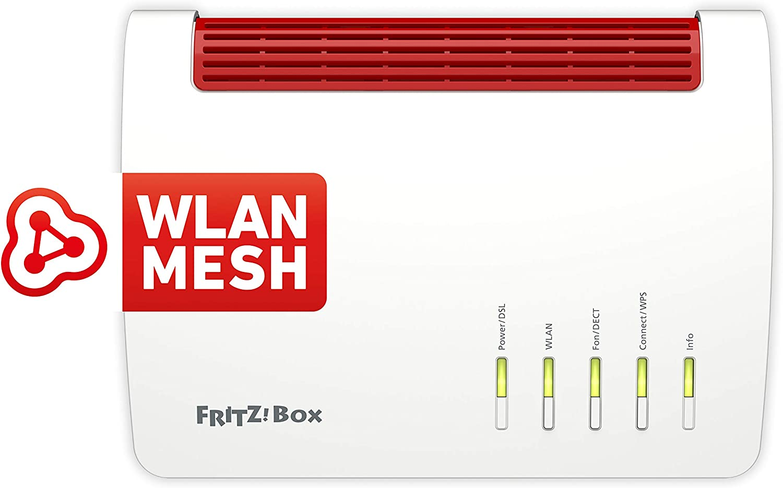 AVM FritzBox 20 High End WLAN AC + N Router Amazon.de ...