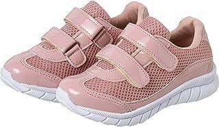 Tenis Feminino Menina Infantil Casual Velcro em duas cores