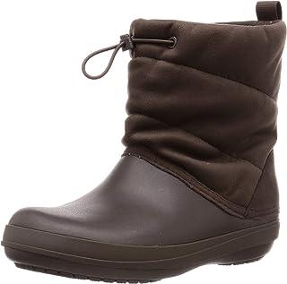 Crocs Crocband Puff Boot Espresso Croslite - Botas para mujer