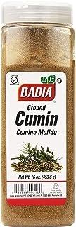 Badia Spices inc Spice, Cumin Seed Ground, 16-Ounce, Yellow Multi (087881)