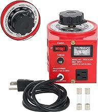 YaeCCC Auto Voltage Transformer AC Variable Voltage Converter Transformer 110VAC Input, 0-130VAC (500W)