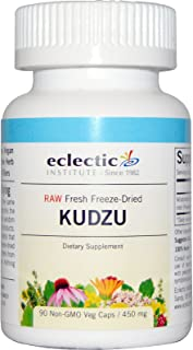 Eclectic Kudzu Root Freeze Dried Vegetables, Blue, 90 Count