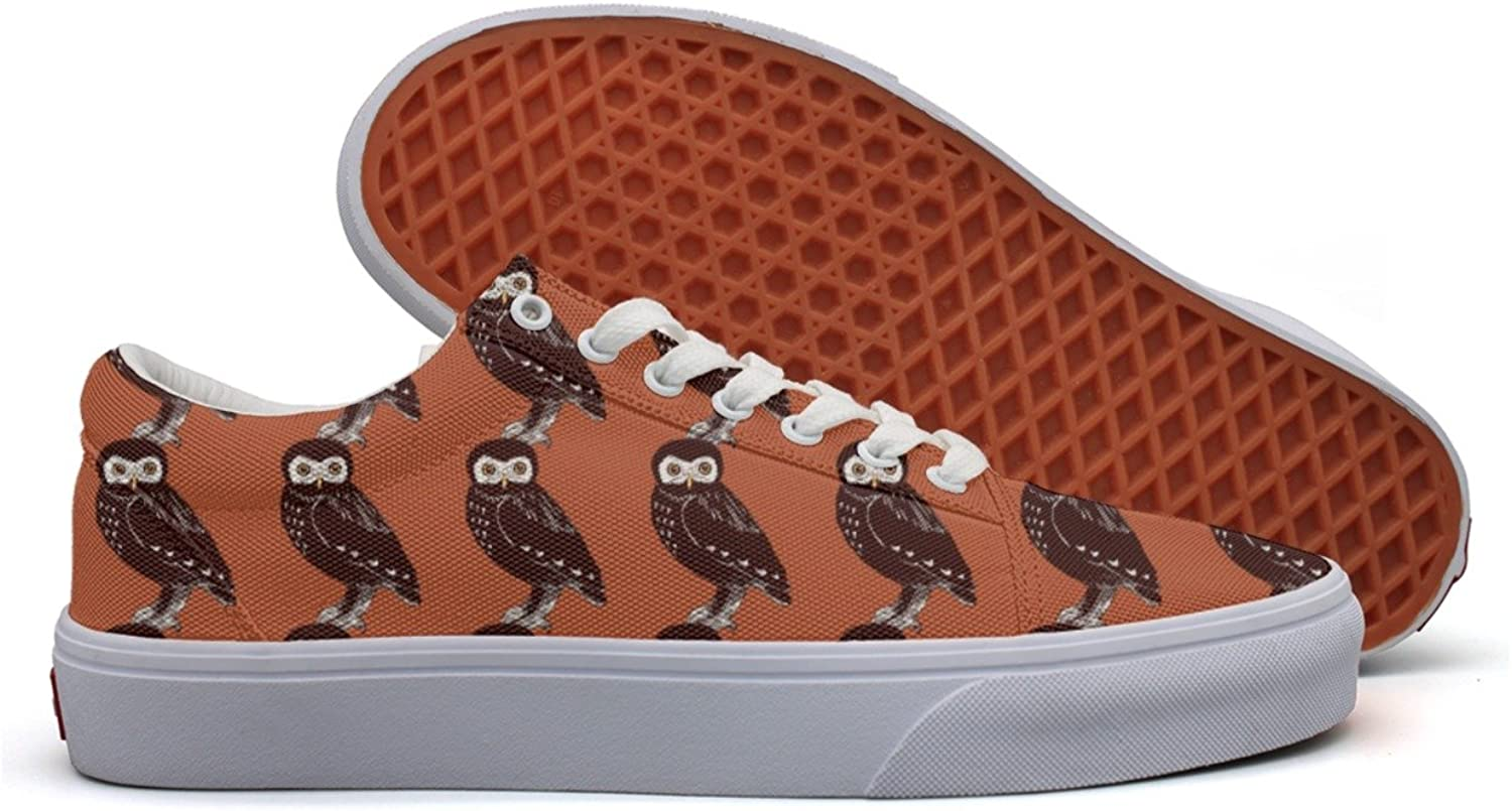 Hand Drawn Owls Women's Casual shoes Sneakers Canvas Cool Fashion Comfortable