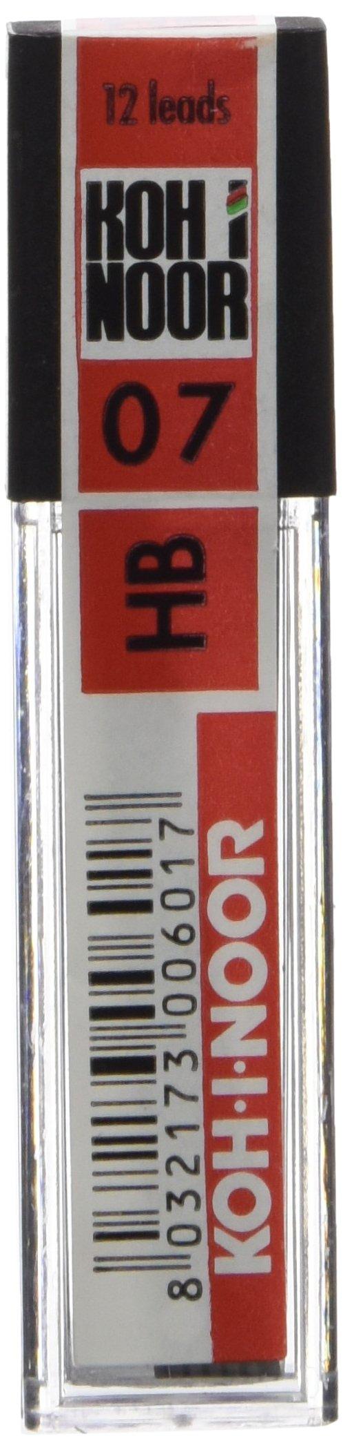 Astuccio 12 micromine 0,7mm HB e207 Kohinoor.