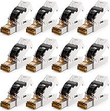 RENNICOCO Herramienta de crimpado de terminales de Cable 270 Piezas 2.8 mm 4.8 mm 6.3 mm Conectores de Pala de Cable Macho//Hembra Kit de crimpado de terminales