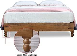 Best wood slab platform bed Reviews