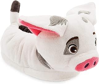 Disney Pua Slippers for Kids - Moana White