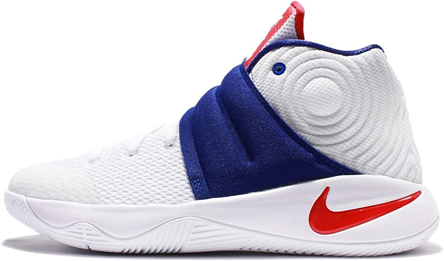 Nike Kyrie Max 83% OFF 2 GS Ranking TOP19 Youth Basketball Shoes 4Y RED M BLUE WHITE US