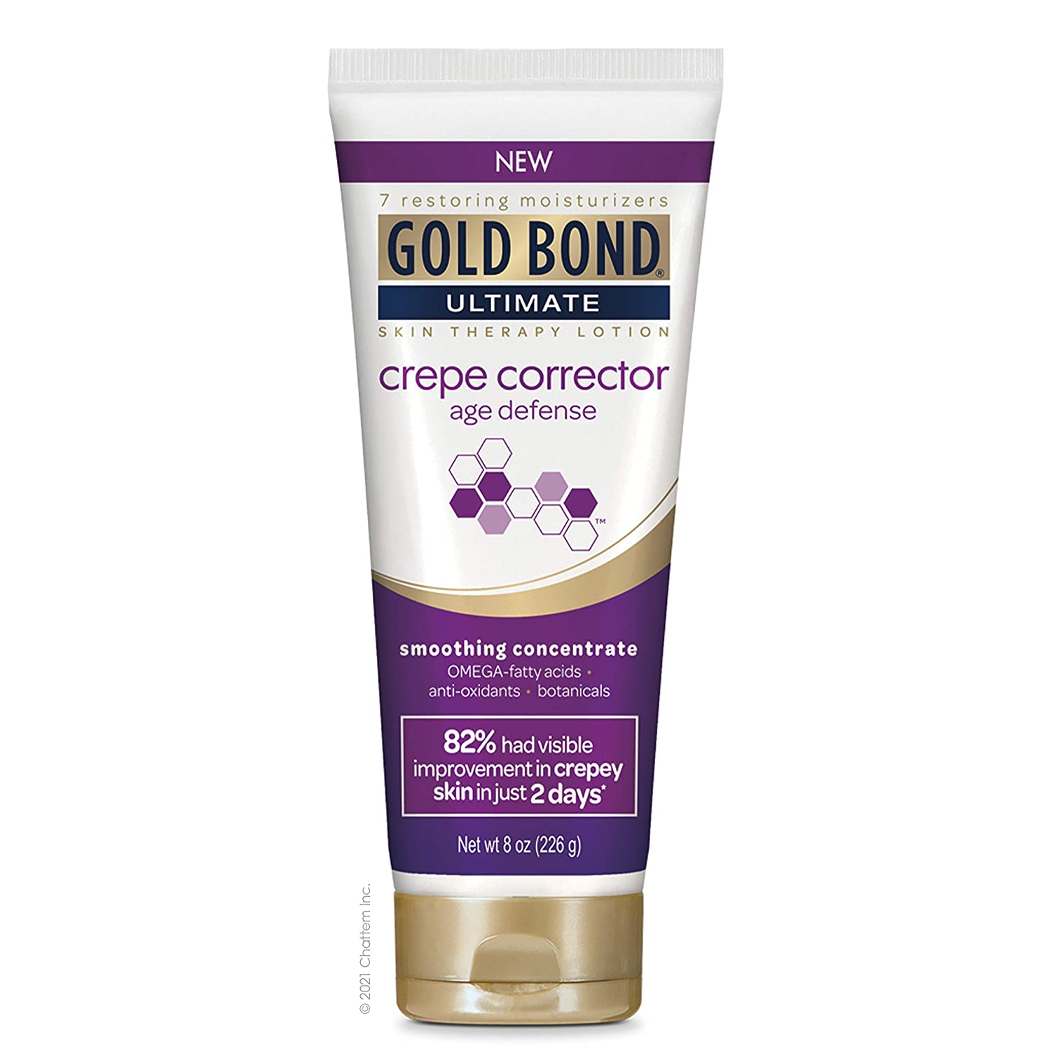 Gold Bond, Ultimate Crepe Corrector 8 oz Age Defense Smoothing Concentrate Skin Therapy Lotion : Beauty
