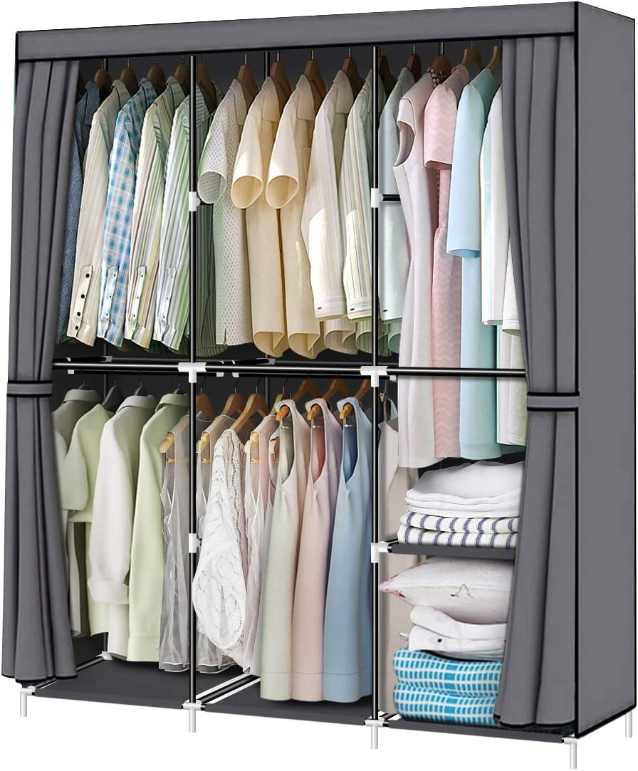 YOUUD 50 Inch Wardrobe Portable Closet Special Campaign Organizer w Cloth Max 73% OFF Stroage
