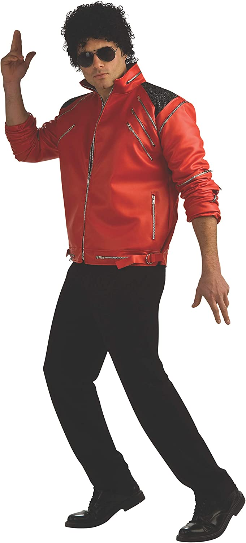 Michael Jackson Deluxe safety Jacket Costume Zipper 5 popular