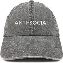 Boeshkey Mobilize Plain Adjustable Cowboy Cap Denim Hat for Women and Men