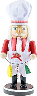 Clever Creations Fresh Out of The Kitchen Nutcracker - Wooden Decorative Christmas Collectible Chef - 9.5 Inches