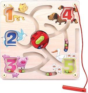 Kinderspielzeug Motorik Magnet Spiel Stadt Hape 301056